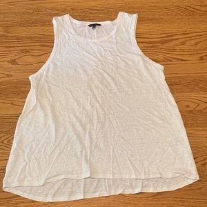 White Banana Republic tank top